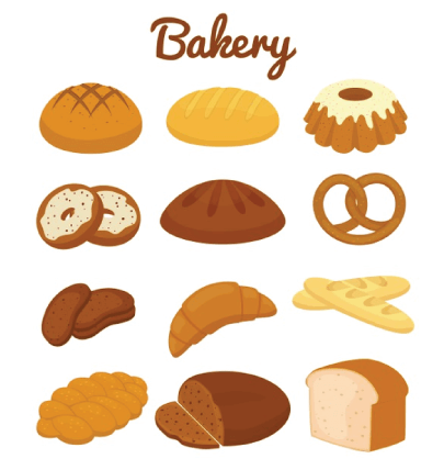Free bread illustration: Sweet Bakery