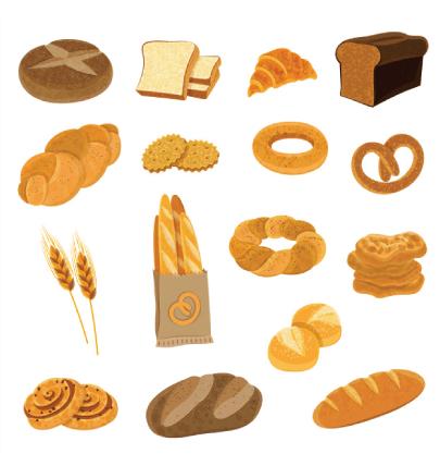 Free bread illustration: Fresh Bread