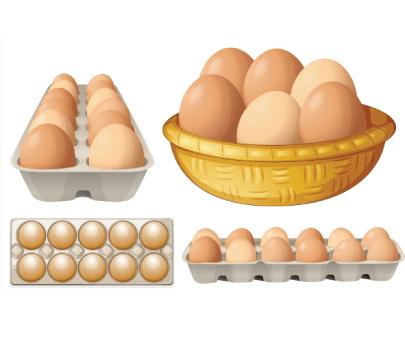 Free egg illustration: Eggs Set