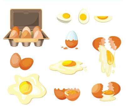 Free egg illustration: Cooking Eggs