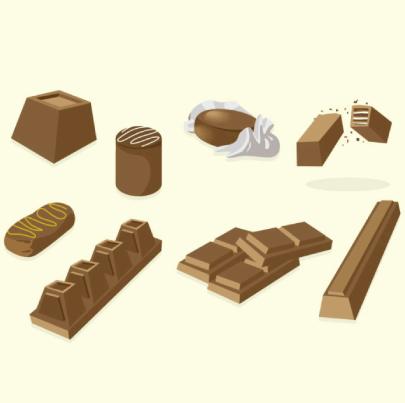 free chocolate illustration: Sweet Chocolate
