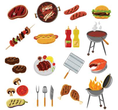 Free BBQ Illustration: BBQ Vector Illustrations