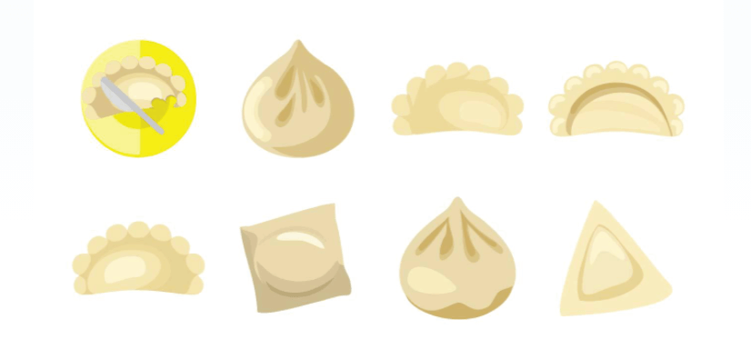 Free Dumpling Illustration: Free Chinese Dumplings