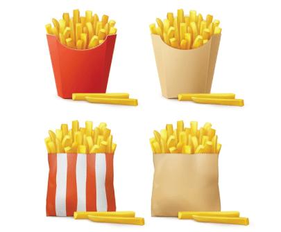 Free Fast Food Illustration: Fast Food Fries