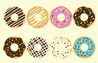 Free Donut Illustration: Donut Illustrations