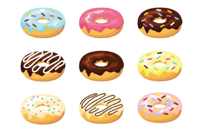 Free Donut Illustration: Delicious Donuts