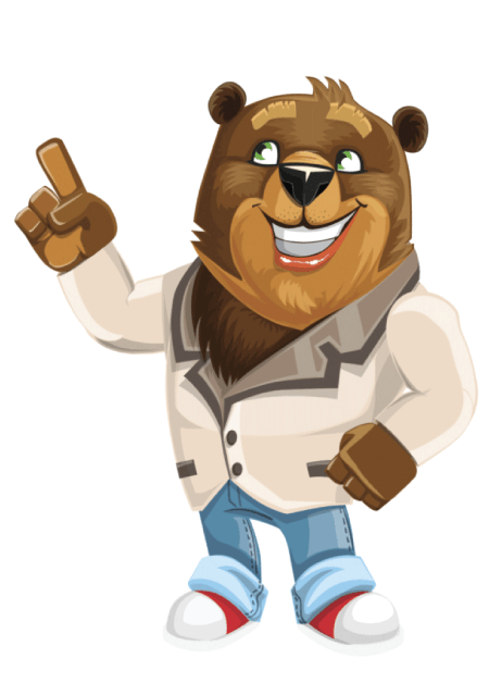 Free Adobe Character Animator Puppet 2021Cute Bear : Free Puppet by Graphic Mama