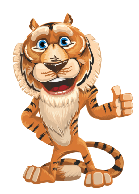 Free Adobe Character Animator Puppet 2021 Cute Tiger : Free Puppet by Graphic Mama