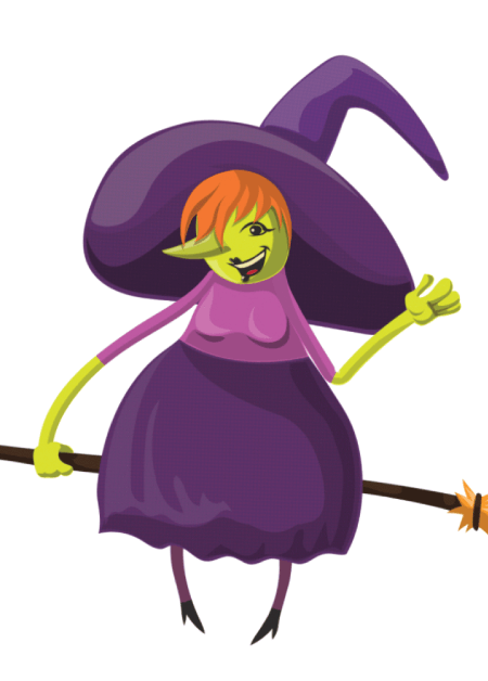 Free Adobe Character Animator Puppet 2021 Green Witch : Free Puppet by Graphic Mama