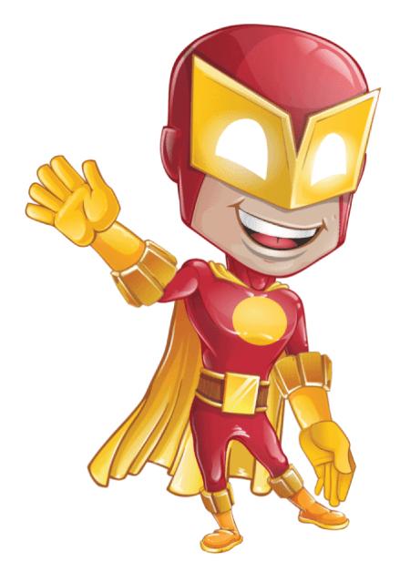 Free Adobe Character Animator Puppet 2021 Superhero : Free Puppet by Graphic Mama