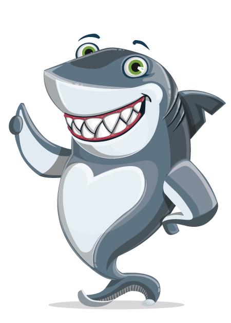 Free Adobe Character Animator Puppet 2021 Shark Boy: Free Puppet by Graphic Mama