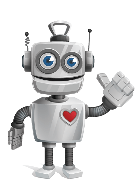 Free Adobe Character Animator Puppet 2021 Vintage Robot: Free Puppet by Graphic Mama