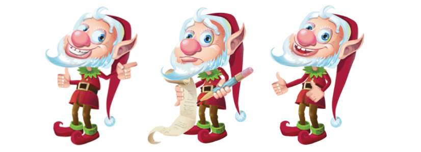Free Adobe Character Animator Puppet 2021 Doodley the Christmas Elf: Free Puppet by Graphic Mama
