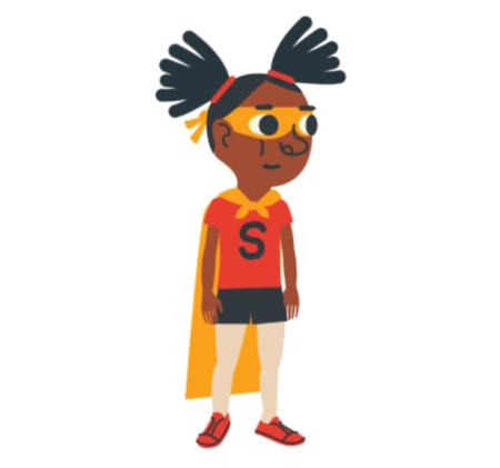 Free Character Animator Puppets 2021 Sam the Superhero Girl Free Puppet