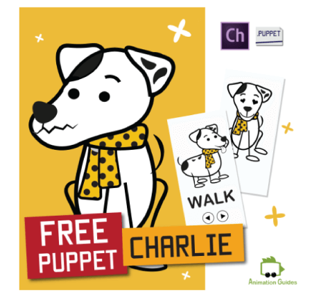 Free Character Animator Puppets 2021 Charlie the Dog Free Puppet