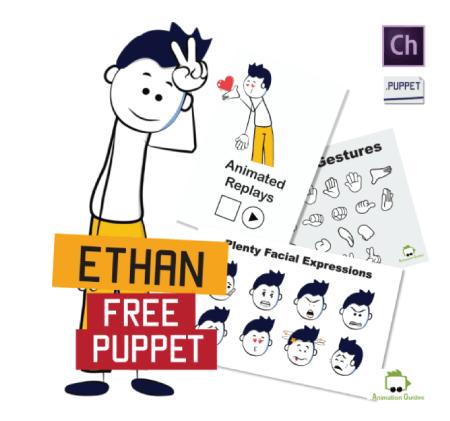 Free Character Animator Puppets 2021 Ethan Stick Figure Free Puppet