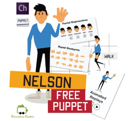 Free Character Animator Puppets 2021 Nelson Free Puppet