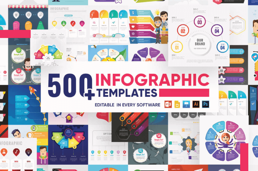 Ultimate Infographic Template Collection