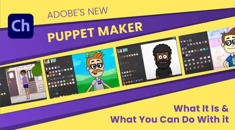 Adobe Character Animator Puppet Maker