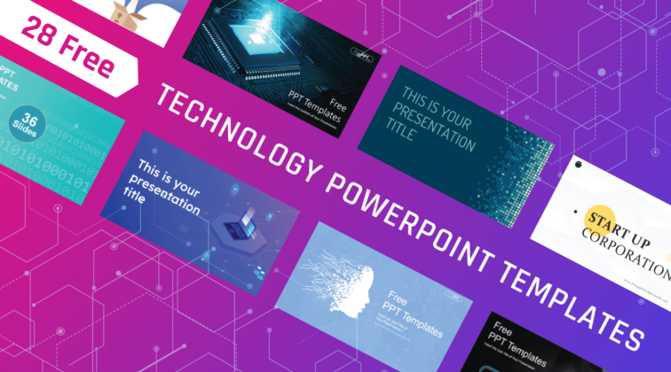 28 Free Technology PowerPoint Templates for Presentations