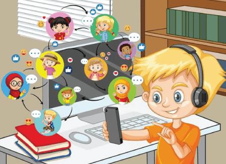 50 Free Cartoon Kid Characters : 12. Little Boy Social Media Free Cartoon Character