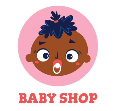 50 Free Cartoon Kid Characters : 36. Adorable Baby with Pacifier Free Vector