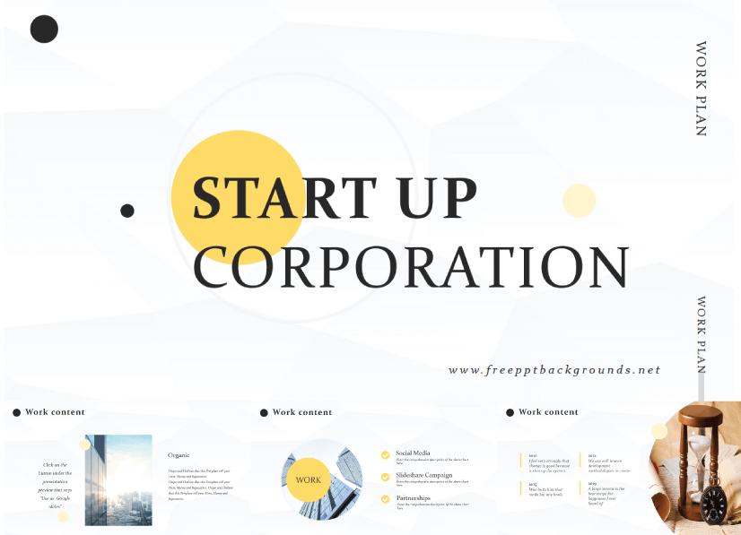 28 Free Technology PowerPoint Templates: Start-Up Tech Corporation