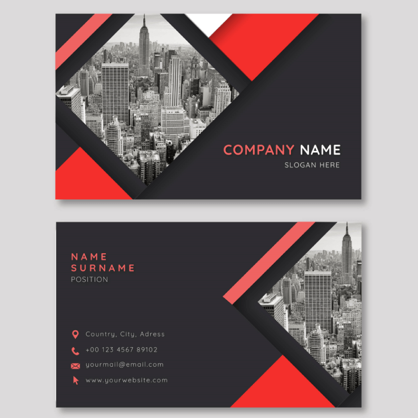 Free Business Card Templates 02
