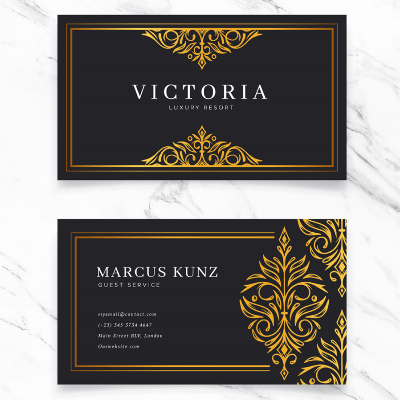 Free Business Card Templates 04
