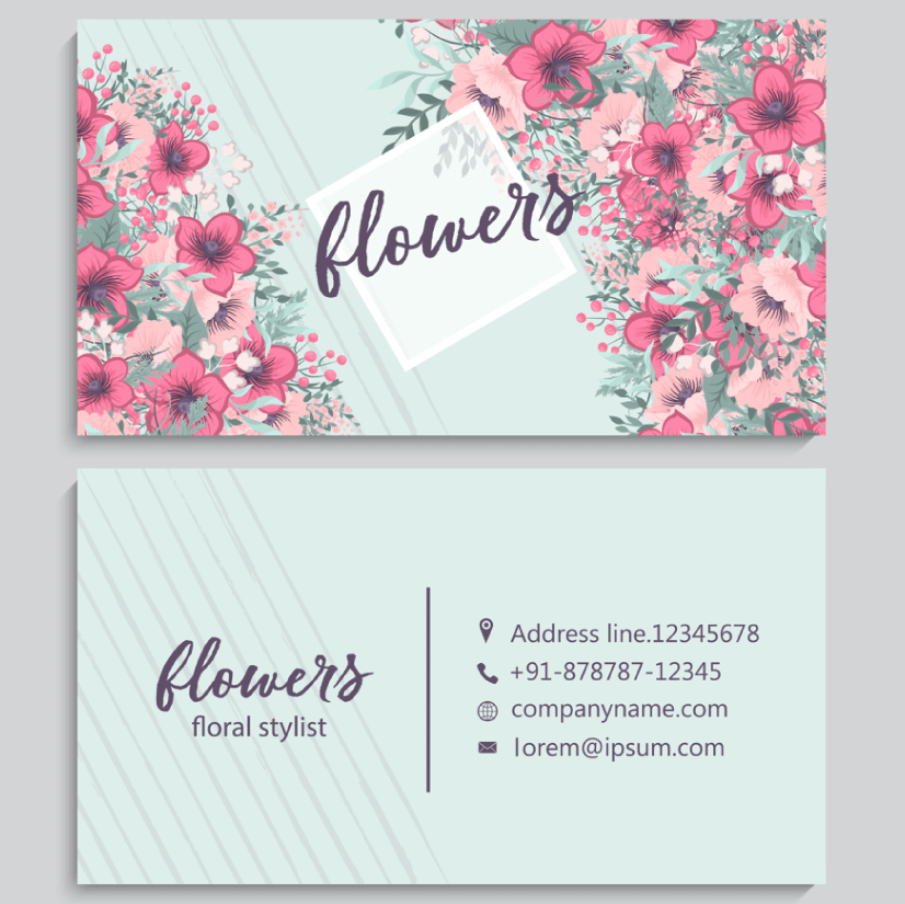 Free Business Card Templates 06