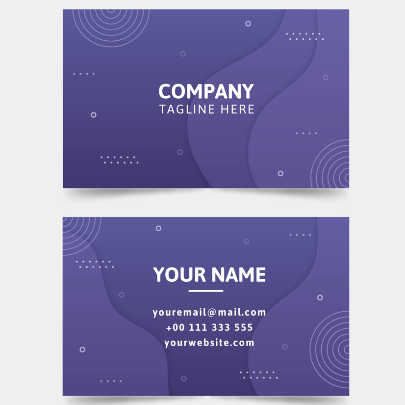 Free Business Card Templates 07
