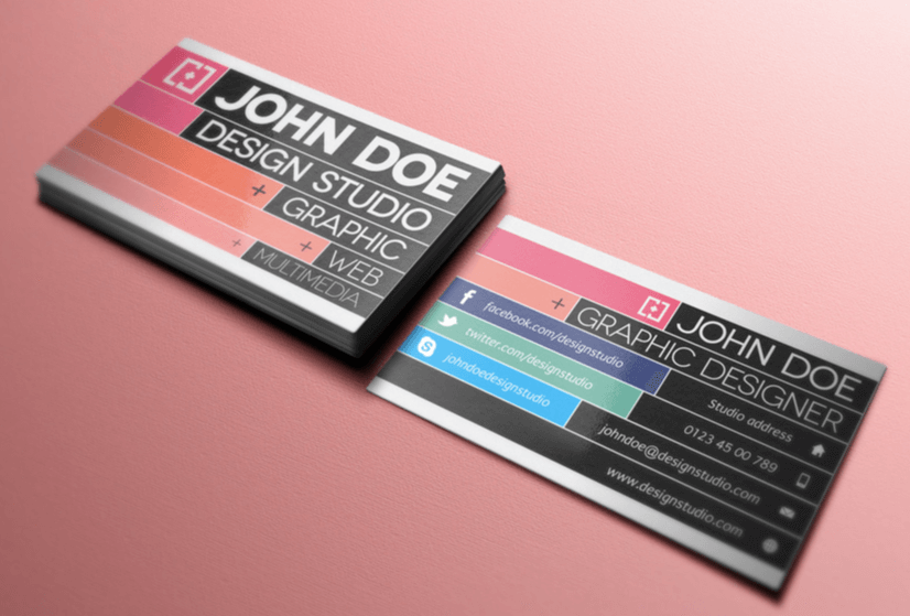 Free Business Card Templates 08
