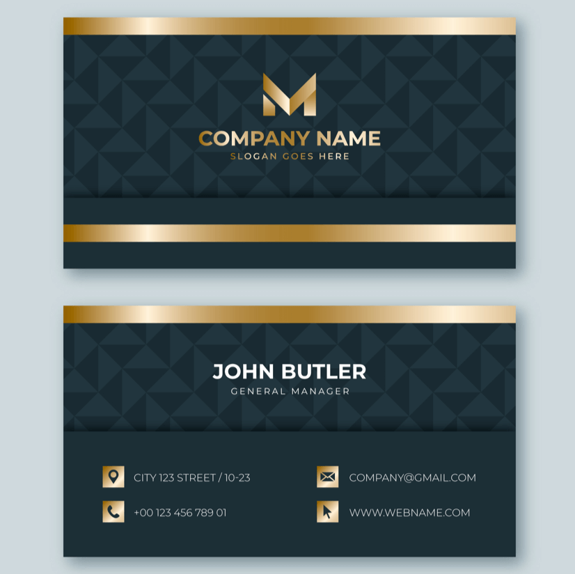 Free Business Card Templates 10