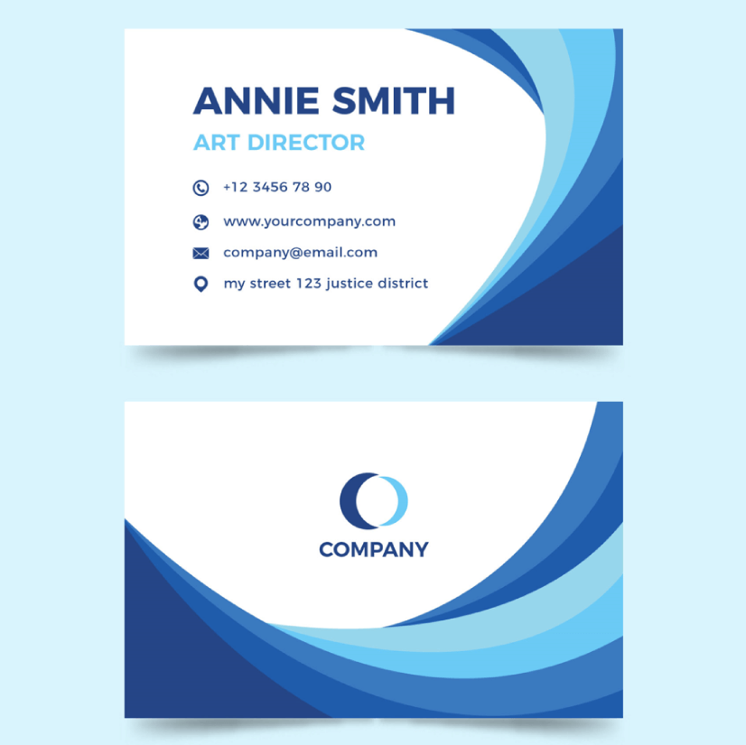 Free Business Card Templates 12