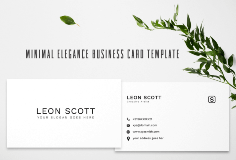 Free Business Card Templates 19