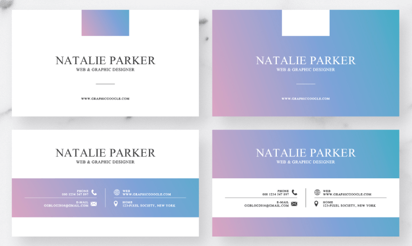 Free Business Card Templates 21