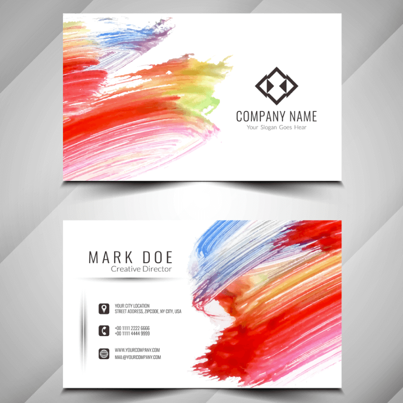 Free Business Card Templates 22
