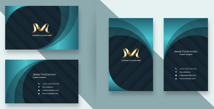 Free Business Card Templates 24