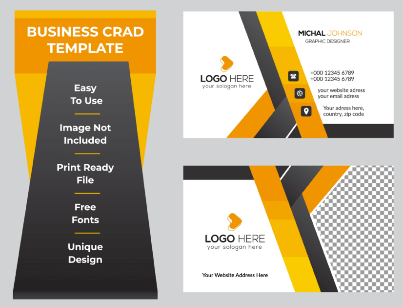 Free Business Card Templates 25