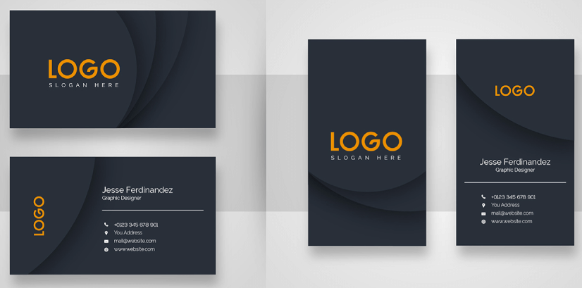 Free Business Card Templates 26