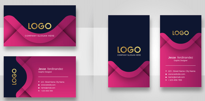 Free Business Card Templates 28