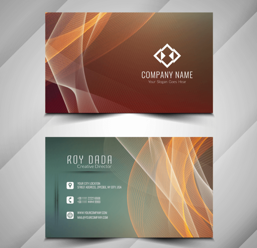 Free Business Card Templates 30