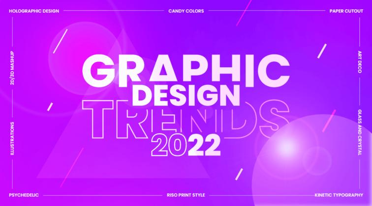 Graphic design trends 2022