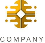 Business logo oval color
