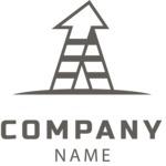 Business logo growth black