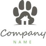 Company logo vet black