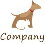 Business logo vet color