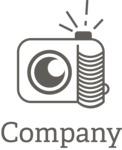 Company logo photography black