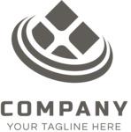 Business logo window black
