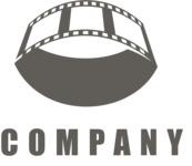 Business logo movie black